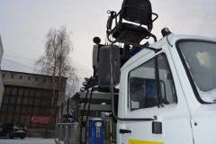 ГАЗ-3308 бурильно-крановая машина
