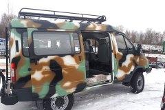 ГАЗ-2752 Соболь 4х4 для охоты и рыбалки