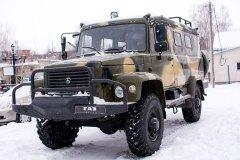 ГАЗ-33081 для охоты и рыбалки