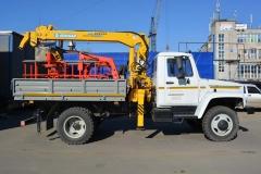 ГАЗ-3309 с КМУ Soosan