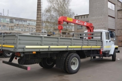 ГАЗ-3309 с КМУ Unic