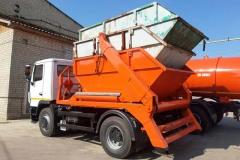 Мусоровоз контейнерный КО-440Б МАЗ-5550