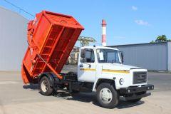 Мусоровоз с задней загрузкой КО-440 ГАЗ-3309