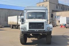 Спецфургон ГАЗ-3308 двурядная кабина 5 мест
