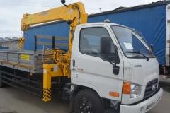 Тросовый КМУ Hyundai-78