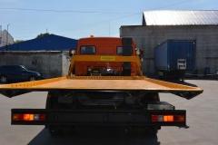 Эвакуатор КАМАЗ 4308 со сдвижной платформой