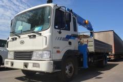 Hyundai-120 с тросовой КМУ