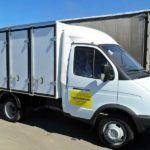 Хлебный фургон ГАЗ-3302