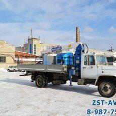 ГАЗ-33086 с КМУ Двина 3200