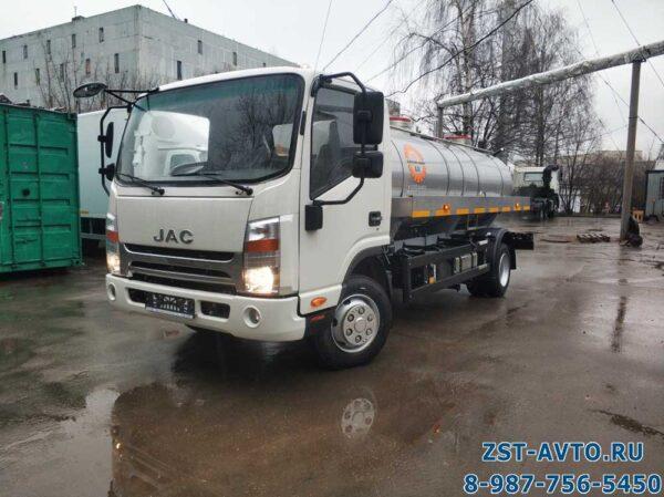 Автоцистерна для пищевых жидкостей JAC N80