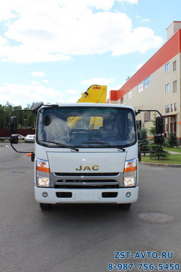 Бортовой JAC N80 с КМУ Hyva