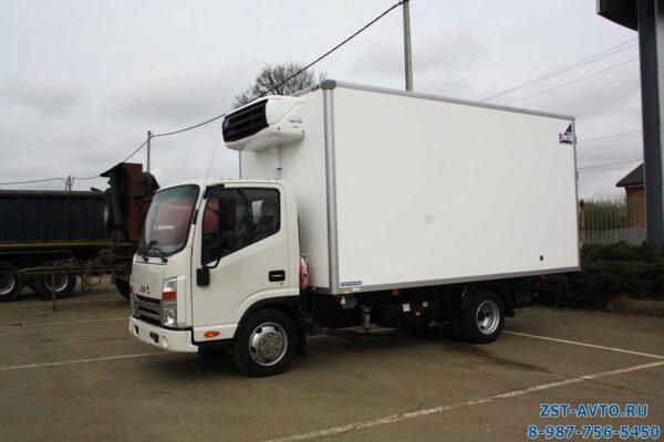 Изотермический фургон для мороженного JAC N56