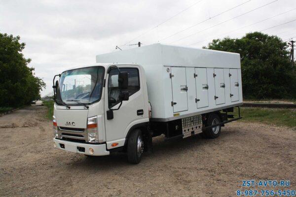JAC-N56 Мороженица мультитемпературный фургон