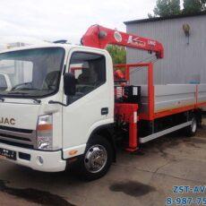 JAC N80 с тросовым КМУ UNIC