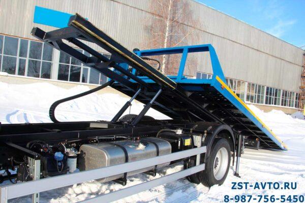 Эвакуатор JAC N120 со сдвижной платформой