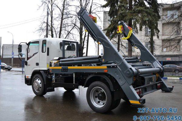 Бункерный мусоровоз JAC N120