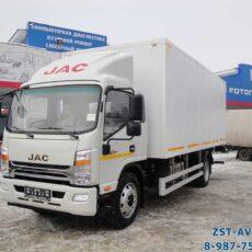 Промтоварный фургон JAC N120 с гидробортом