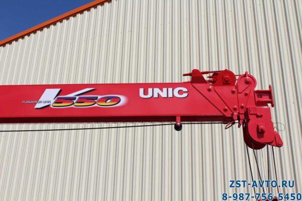 JAC N120 с тросовой КМУ UNIC